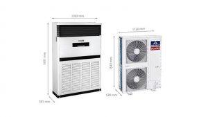 Điều hòa-Funiki-FC100MCC- tủ đứng 1 chiều