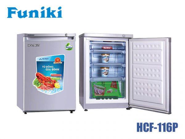 Tủ đông Funiki HCF-116P