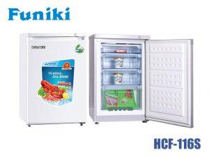 Tủ đông Funiki HCF-116S