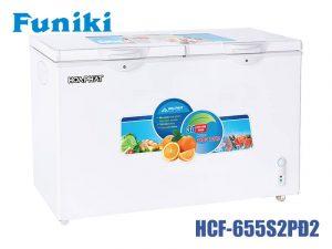 Tủ đông Funiki HCF-655S2PĐ2