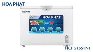 Tủ đông Hòa Phát-HCF-516S1N1 1 ngăn 1 cánh mở