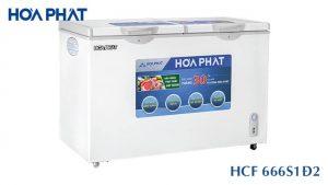 Tủ đông Hòa Phát-HCF-666S1D2
