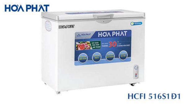 Tủ đông Hòa Phát-HCFI-516S1D1