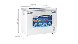 Tủ đông Hòa Phát-HCFI-516S1Đ1 1 ngăn 1 cánh mở