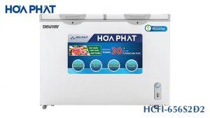 Tủ đông Hòa Phát -HCFI-656S2Đ2 inverter 2 ngăn 2 cánh mở