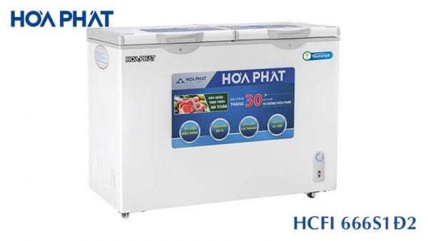 Tủ đông Hòa Phát-HCFI-666S1D2